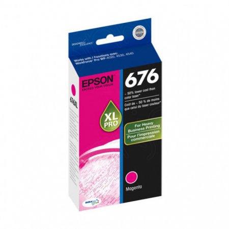 Epson 676XL (T676XL320) Ink Cartridge, Magenta, OEM
