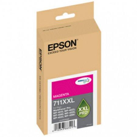 Epson T711XXL320 (711XXL) Ink Cartridge, Pigment Magenta, OEM