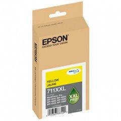 Epson T711XXL420 (711XXL) Ink Cartridge, Pigment Yellow, OEM