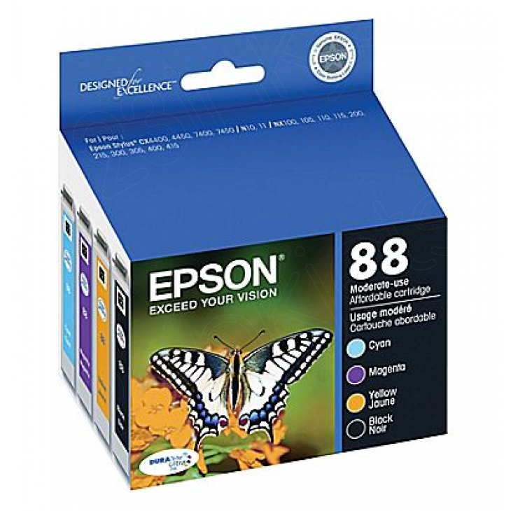Original Epson 124 Color Ink