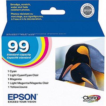 Epson T099920 5-Color Multipack 99 Ink Cartridges, OEM