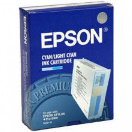 Epson S020147 Ink Cartridge, Cyan, OEM
