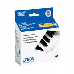 Epson S187093 Ink Cartridge, Black, OEM