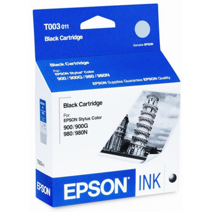 Epson T003011 (T003) Ink Cartridge, Black, OEM