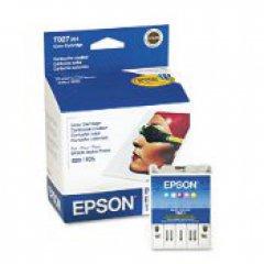 Epson T027201 (T027) Ink Cartridge, Color, OEM