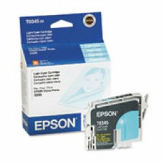 Epson T034520 (T0345) Ink Cartridge, Light Cyan, OEM