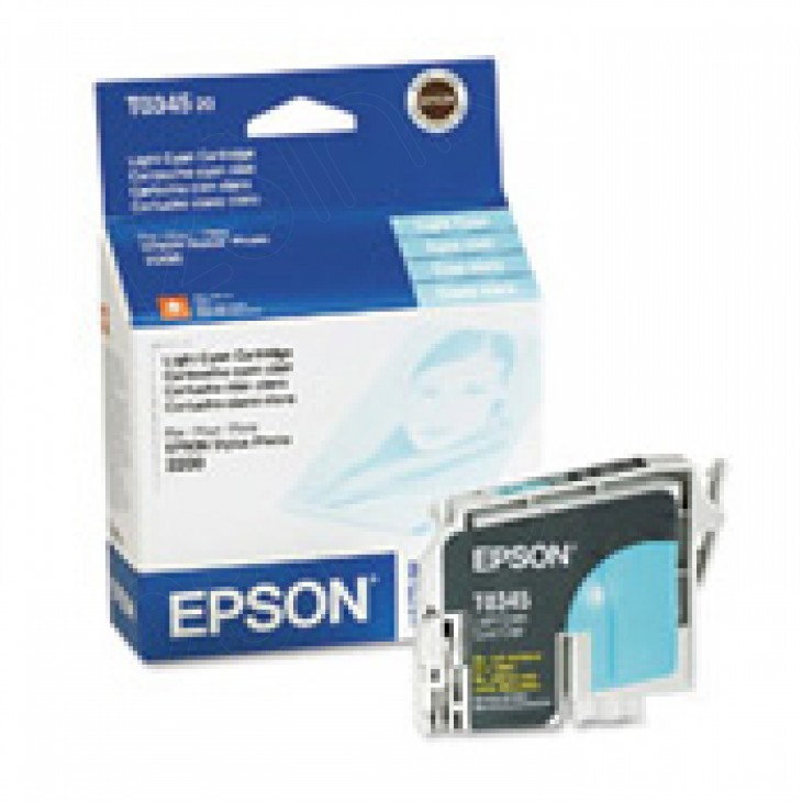 Epson T034520 (T0345) Ink Cartridge, Light Cyan, OEM