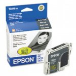 Epson T034820 (T0348) Ink Cartridge, Matte Black, OEM