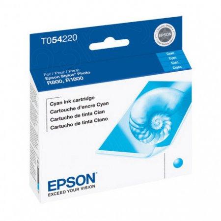 Epson T054220 (T0542) Ink Cartridge, Pigment Cyan, OEM