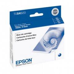 Epson T054920 (T0549) Ink Cartridge, Pigment Blue, OEM