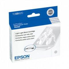 Epson T059920 (T0599) Ink Cartridge, Pigment Light Light Black, OEM
