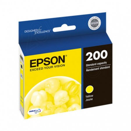 Epson T200420 Ink Cartridge, Yellow, OEM