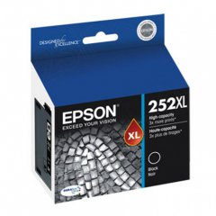 Epson T252XL120 Ink Cartridge, High Yield Black, OEM