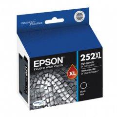 Epson T252XL120 Ink Cartridge, High Yield Black, OEM