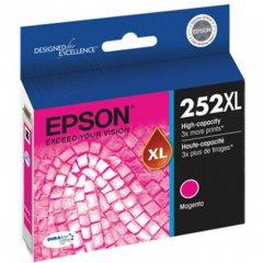 Epson T252XL320 Ink Cartridge, High Yield Magenta, OEM