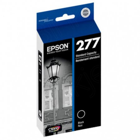 Epson T277120 Ink Cartridge, SY Black, OEM