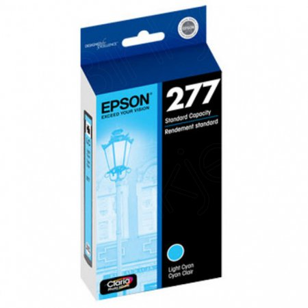 Epson T277520 Ink Cartridge, SY Light Cyan, OEM