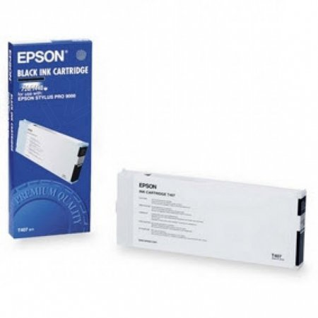 Epson T407011 200ml Ink Cartridge, Black, OEM