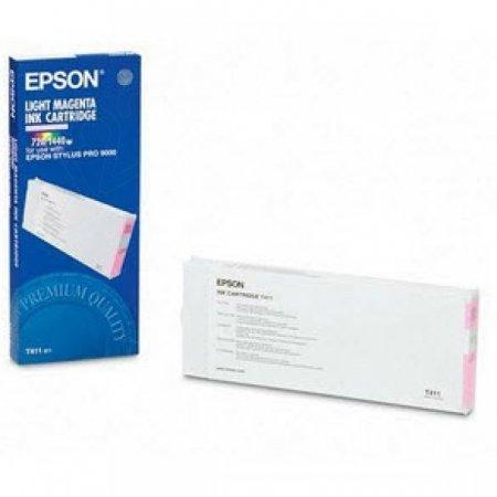 Epson T411011 200ml Ink Cartridge, Light Magenta, OEM