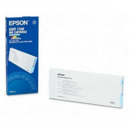 Epson T412011 200ml Ink Cartridge, Light Cyan, OEM