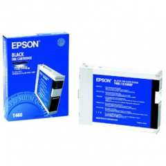 Epson T460011 110ml Ink Cartridge, Black, OEM