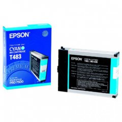 Epson T463011 110ml Ink Cartridge, Cyan, OEM