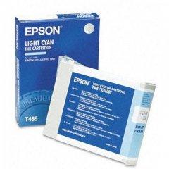 Epson T465011 110ml Ink Cartridge, Light Cyan, OEM