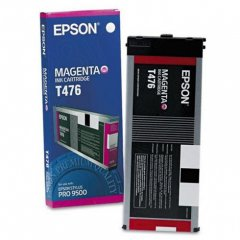 Epson T476011 220ml Ink Cartridge, Magenta, OEM