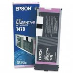 Epson T478011 220ml Ink Cartridge, Light Magenta, OEM