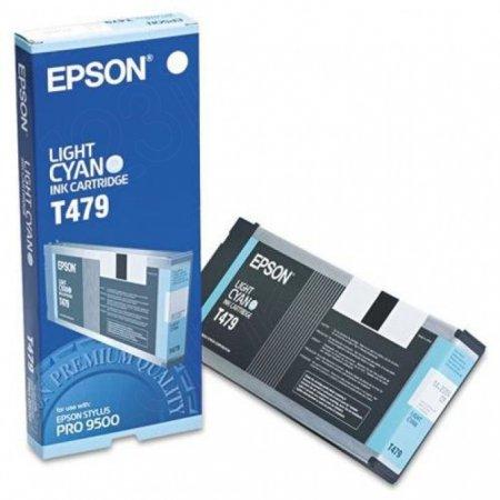Epson T479011 220ml Ink Cartridge, Light Cyan, OEM