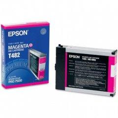 Epson T482011 110ml Ink Cartridge, Magenta, OEM