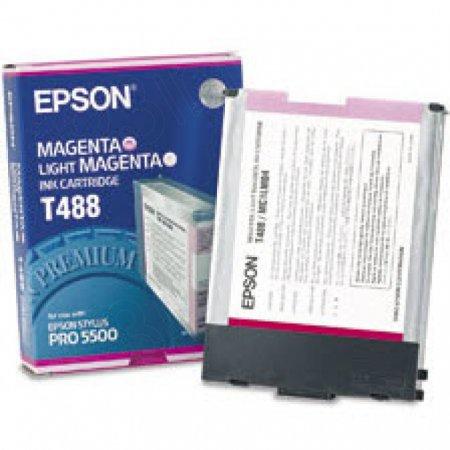 Epson T488011 Ink Cartridge, Magenta, OEM