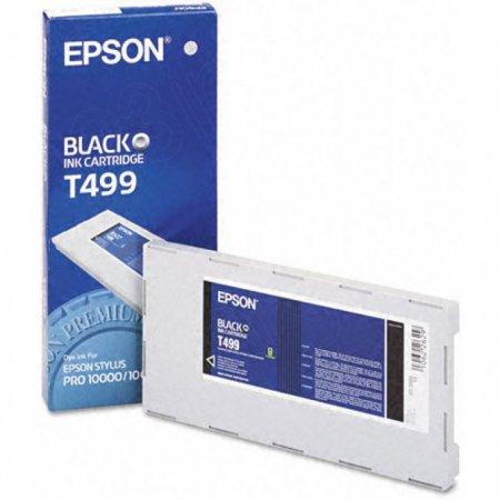 Epson T499011 500ml Ink Cartridge, Black, OEM