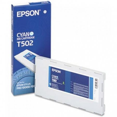 Epson T502011 500ml Ink Cartridge, Cyan, OEM
