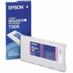 Epson T503011 500ml Ink Cartridge, Light Magenta, OEM