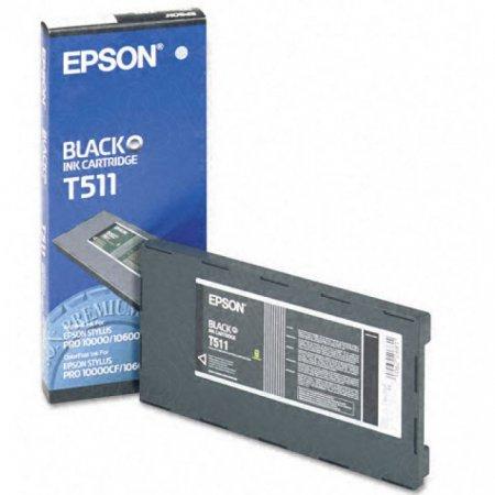 Epson T511011 Ink Cartridge, Black, OEM