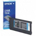Epson T514011 Ink Cartridge, Cyan, OEM