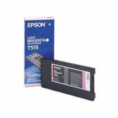 Epson T515011 Ink Cartridge, Light Magenta, OEM