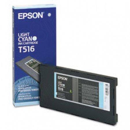 Epson T516011 Ink Cartridge, Light Cyan, OEM