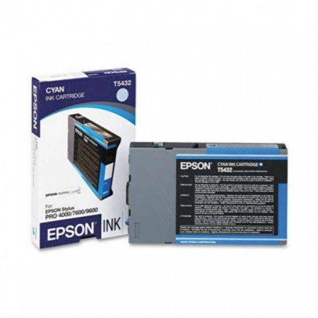 Epson T543200 110ml Ink Cartridge, Cyan, OEM