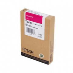 Epson T543300 110ml Ink Cartridge, Magenta, OEM
