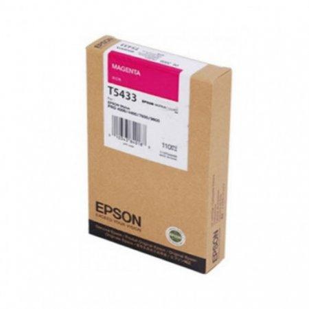 Epson T543300 110ml Ink Cartridge, Magenta, OEM