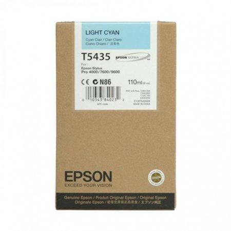 Epson T543500 110ml Ink Cartridge, Light Cyan, OEM