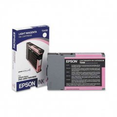 Epson T543600 110ml Ink Cartridge, Light Magenta, OEM