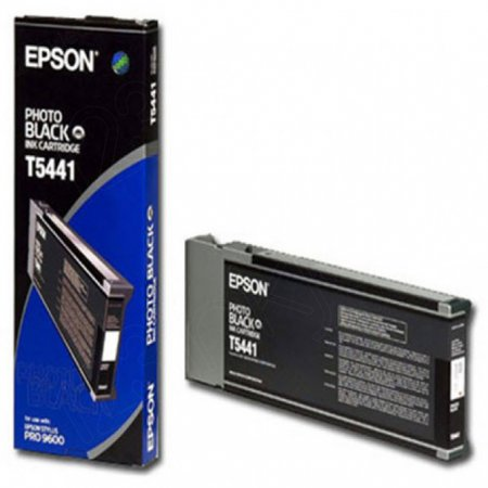 Epson T544100 (T5441) Ink Cartridge, Photo Black, OEM