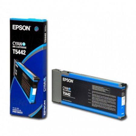 Epson T544200 (T5442) Pigment Ink Cartridge, Cyan, OEM