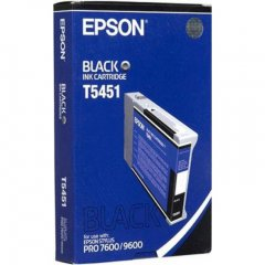 Epson T545100 (T5451) Photographic Dye Ink Cartridge, Black, OEM