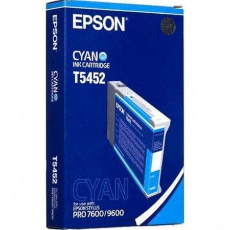 Epson T545200 (T5452) Photographic Dye Ink Cartridge, Cyan, OEM
