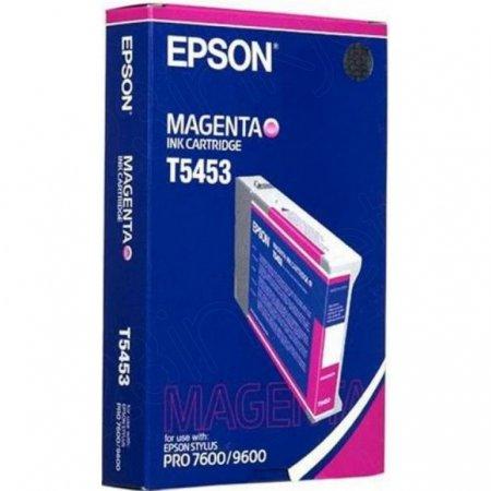 Epson T545300 (T5453) Photographic Dye Ink Cartridge, Magenta, OEM