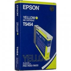 Epson T545400 (T5454) Photographic Dye Ink Cartridge, Yellow, OEM